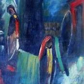 Sold   Domsaitis, Pranas   Figures in the Dark