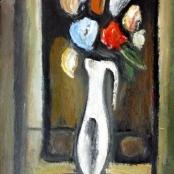 Sold   Domsaitis, Pranas   Jug with flowers