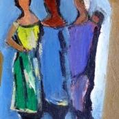 Sold   Domsaitis, Pranas   Three ladies with a baby