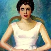 Sold   Domsaitis, Pranas   Portrait of a lady