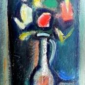 Sold   Domsaitis, Pranas   Vase of flowers