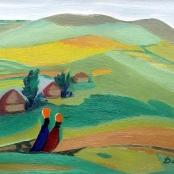 Sold   Domsaitis, Pranas   Karoo landscape