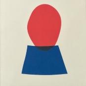 Sold | Eagle, Ben | Composition of red & blue