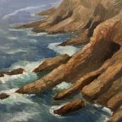 "Scarlin, Oliver   ""St Blaize cliffs, Mossel Bay"""