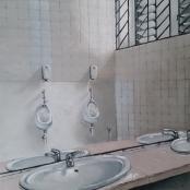 NO10-Andries Bezuidenhoud, This is not a fountain, bathroom at Pretoria Art museum
