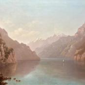 NO17- J.E.A Volschenk, The Lake of Uri