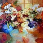 Sold  Gradwell, Margaret   Arrangement of flowers
