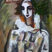 Sold  Buchner, Carl   Clown in white