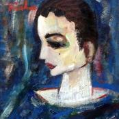 Sold  Buchner, Carl   Blue clown