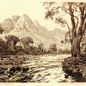 Sold De Jongh, Tinus    Stellenbosch landscape