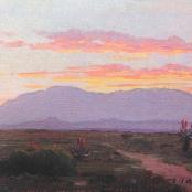 Sold| Volschenk, J.E.A | Riversdal landscape