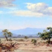 Sold  Klar, Otto    Bushveld Landscape