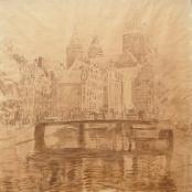 Oerder, Frans | Achter Burgwal, Amsterdam
