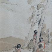 Sold  Battiss, Walter   African figures