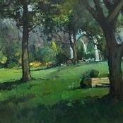 Sold | Fasciotti, Titta | Garden landscape