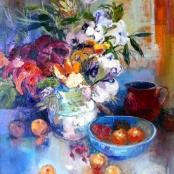 Sold   Gradwell, Margaret   Still life with jug