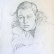 Sold   Henkel, Irmin   Portrait of a Lady