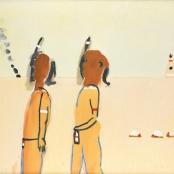 Robert Hodgins, Braves, ABSOLUT ART GALLERY, www.absolutart.co.za