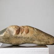 Mertz, Isabel | Erode |  Hand carved granite stone