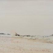 Sold |Jentsch, Adolph | Landscape- Namibian