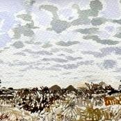 Sold | Jentsch, Adolph | Namibian landscape