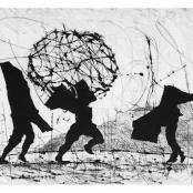 Sold | Kentridge, William | Shadows in landscape