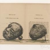 Kentridge, William | Braz Cubas ( Head and stone)