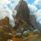Sold   Klar, Otto   Mountain Peak