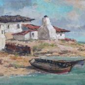 Sold   Klar, Otto   The Fishermen's boat