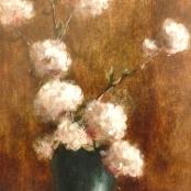 Sold   Klar, Otto   White flowers in a vase