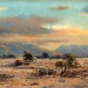 Sold   Klar, Otto   Landscape at sunset