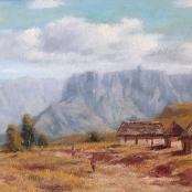 Sold  Klar, Otto   Mountainous landscape
