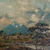 Sold  Klar, Otto   Landscape