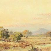 Sold  Klar, Otto   Landscape with river