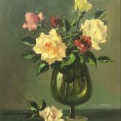 Sold  Klar, Otto   Still life, Roses