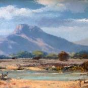 Sold   Klar, Otto   Spring landscape