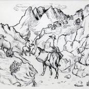 Sold | Krige, Francois | Mountain Pass