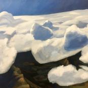 Laubscher, Erik  | Winter clouds over Franshhoek