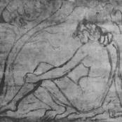 Sold | Lipshitz, Israel-Isaac (Lippy) | Seated Nude