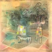 Maqhubela, Louis   Composition with Figure & Dog