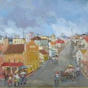 Sold  Louw, Kobus   Street scene