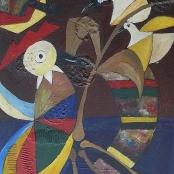 Sold  Mahlangu, Speelman    Abstract with Birds
