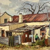 Botha, David | Back Yard
