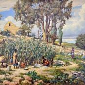 Mayer, Erich | Landscape with figures