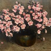 Sold | Oerder, Frans | Still life withpink flowers