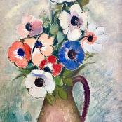 Domsatis, Pranas | Still life vase of flowers