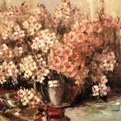 Sold |Oerder, Frans | Mixed flower bouquet