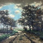 De Jongh, Tinus | Pathway next to river