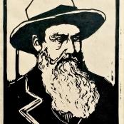 Sold   Pierneef, J.H   Portrait of a Voortrekker, signed