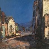Wenning, Pieter   Street Scene in malay qaurter, Cape Town,  signed